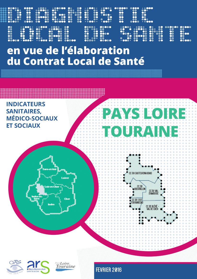 Couverture Diagnostic local de santé de l'Agglomération Montargoise et Rives du Loing et Pays du Gâtinais